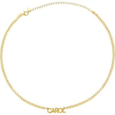 ザエムジュエラーズ THE M JEWELERS レディース ネックレス チョーカー ジュエリー・アクセサリー Nameplate Choker Necklace Gold
