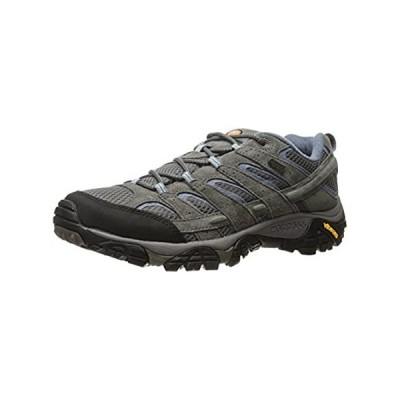 Merrell Women's Moab 2 Waterproof Hiking Shoe, Granite, 8 M US