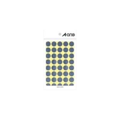 エーワン カラーラベル 丸型 15mmφ(銀) A-one 07032(カラーラベル) 返品種別A