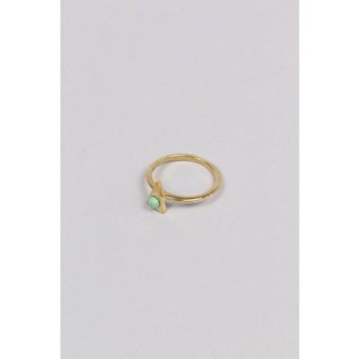 Triangle Ring-Brass(R083B) Chibi Jewels(チビ・ジュエルズ)