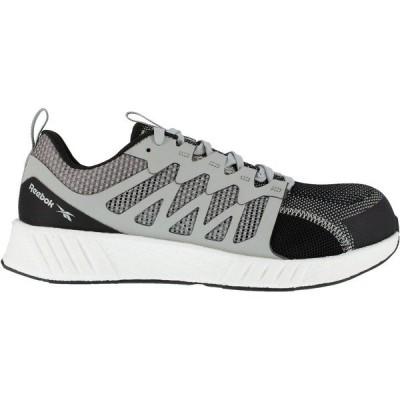 リーボック ブーツ&レインブーツ シューズ メンズ Reebok Men's Fusion Flexweave FloatRide Energy Athletic Work Shoes Gray/Black