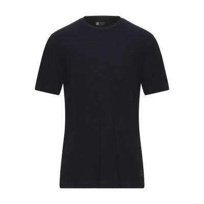ZZEGNA T シャツ ダークブルー XL ウール 100% T シャツ
