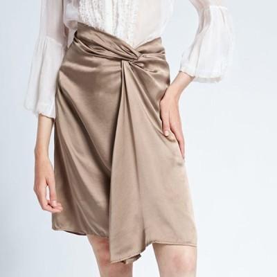 きれいめ ひざ丈スカート Aライン 大人可愛い フレア 夏 お出かけやお呼ばれに