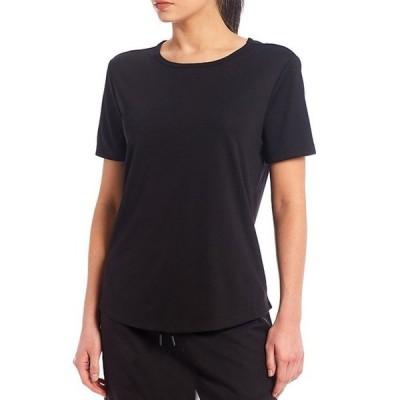 ウエストバウンド レディース Tシャツ トップス Wrinkle Resistant Jewel Neck Short Sleeve Performance Tee