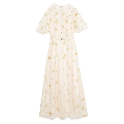 【ファーファー/FURFUR】 マリンモチーフ刺繍ドレス