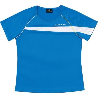 ルーセント テニス LUCENT ゲームシャツ W BL ブルー ケームシャツ・パンツ(xlh2317)