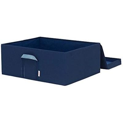 ルミナス メタルラック用 収納ボックス ネイビー 幅54x奥行43x高さ21cm LSB5443NV(ブルー)