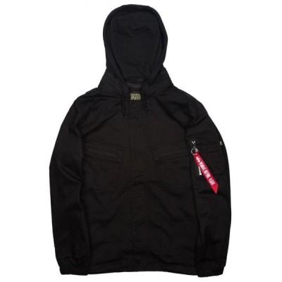 アルファ インダストリーズ Alpha Industries メンズ コート アウター Fortitude Field Coat black