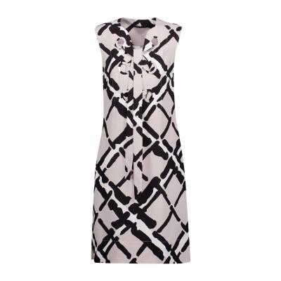 デレク ラム DEREK LAM ミニワンピース&ドレス ライトグレー 38 シルク 100% ミニワンピース&ドレス