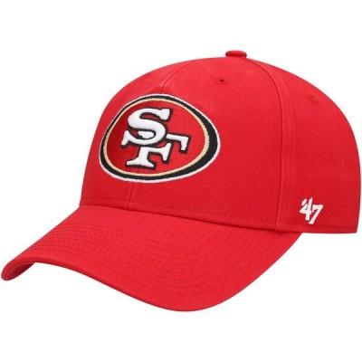 サンフランシスコ・49ers '47 Legend MVP Adjustable キャップ - Red