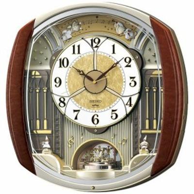 からくり時計 壁掛け時計 SEIKOウエーブシンフォニー RE564H  送料無料 ギフト お洒落 名入れ 掛け時計