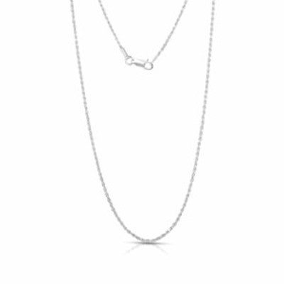 """Authentic Solid Sterling Silver Rope Diamond-Cut Braided Twist Link .925 ITProLux Necklace Chains 1MM - 5MM, 16"""" - 30"""", Made in"""