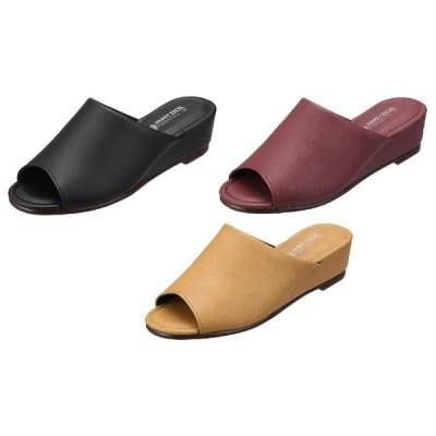 ミュール Pansy パンジー エクセル 9129 ウェッジ サンダル スリッパ レディース 靴 お取り寄せ商品