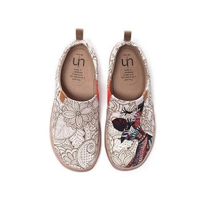 [UIN] 超軽量 シューズ レディース スリッポン キャンバススニーカー 女性用スニーカー レディース靴 カジュアル ウォーキングシューズ ルームシ