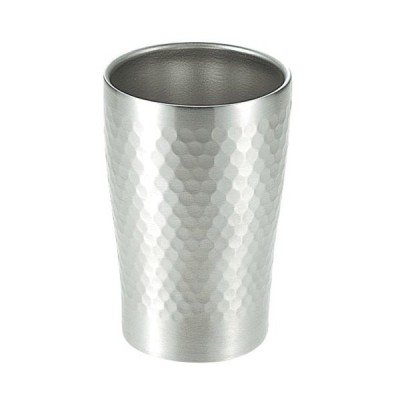 食器 厨房用品 / ステン断熱タンブラー楓 SOH−150 280ml 寸法: Φ80 x H124mm