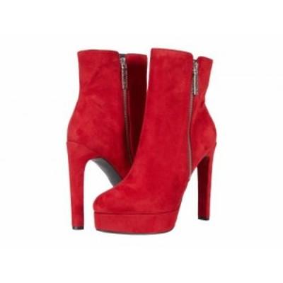 GUESS ゲス レディース 女性用 シューズ 靴 ブーツ アンクル ショートブーツ Dejah Red Fabric【送料無料】