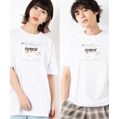 【WEGO公式】ガールズフォトTシャツ 半袖  WE20SS02-M1057