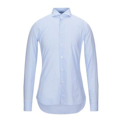 ALEA シャツ スカイブルー 38 コットン 100% シャツ