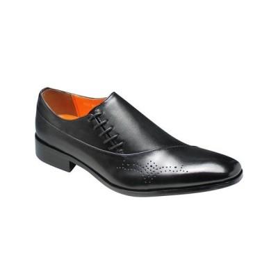 アントニオ ドュカッティ/ビジネスシューズ サイドレース メダリオン/DC1179 ブラック/メンズ 靴