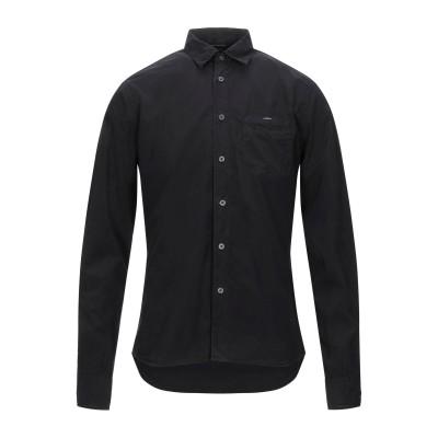 シーピーカンパニー C.P. COMPANY シャツ ブラック S コットン 100% シャツ