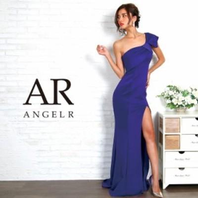 Angel R エンジェルアール ドレス キャバ ドレス キャバドレス エンジェル アール ドレス リボンモチーフワンショルダータイトロングドレ
