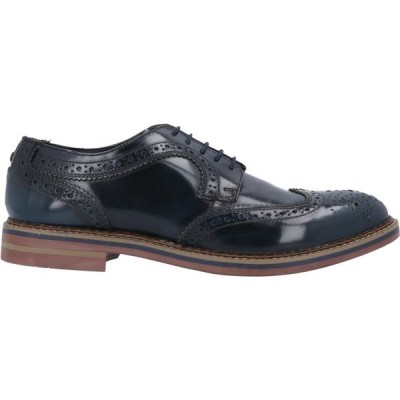 ベース ロンドン BASE London メンズ シューズ・靴 laced shoes Dark blue