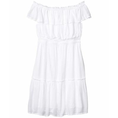 トッミーバハマ ワンピース トップス レディース Caicos Crinkle Off-the-Shoulder Short Dress White