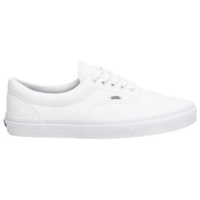 バンズ メンズ スニーカー シューズ Vans Era White/White | LEATHER