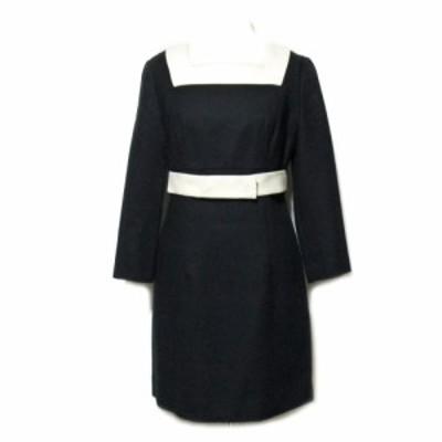 BALENCIAGA バレンシアガ「38」ミッドセンチュリーデザインワンピース (ドレス) 061436【中古】
