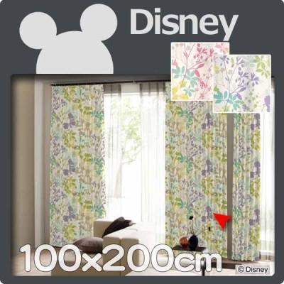 カーテン ディズニー 100x200cm 1枚 遮光 disney ミッキー カ−ニバル