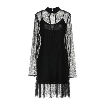 マックキュー アレキサンダー・マックイーン McQ Alexander McQueen ミニワンピース&ドレス ブラック 38 100% ナイロン
