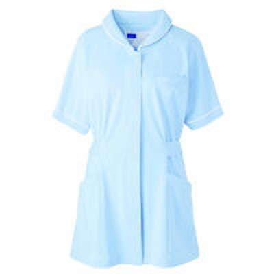 自重堂自重堂 チュニック 女性用 ブルー L WH10701(取寄品)