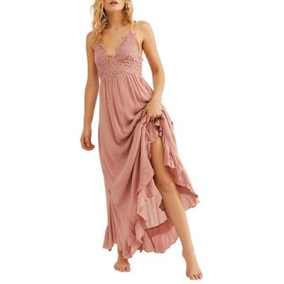 フリーピープル レディース ワンピース トップス Adella Maxi Slip Dress