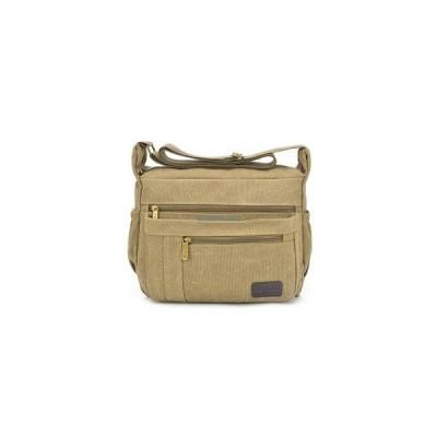 メッセンジャーバッグ メンズ ショルダーバッグ  斜めがけ 多機能  鞄 かばん 帆布 肩掛け キャンバスバッグ カジュアル アウトドア 大容量 通