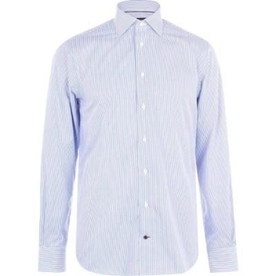 トミー ヒルフィガー Tommy Hilfiger メンズ シャツ トップス Classic Stripe Shirt Limoges A