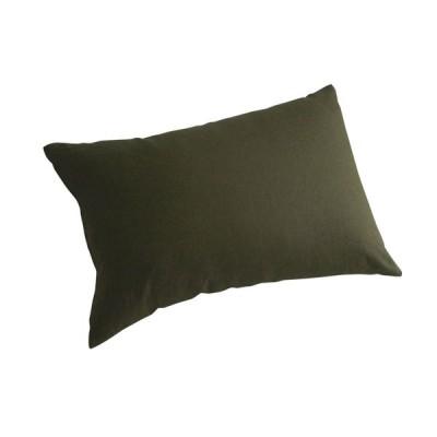リネン&ラミー 麻100% オリーブ 枕カバー