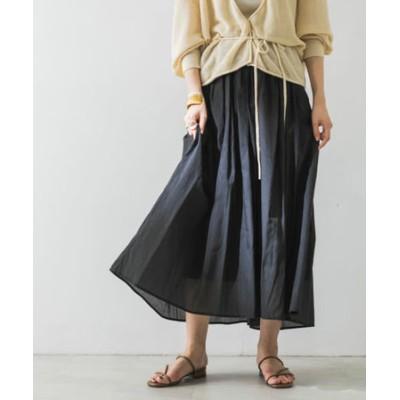 ボックスタックエアリーロングスカート