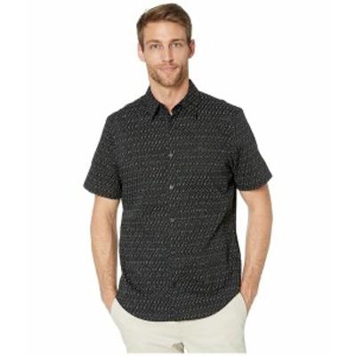 カルバンクライン メンズ シャツ トップス The Stretch Cotton Short Sleeve Woven Shirt Black