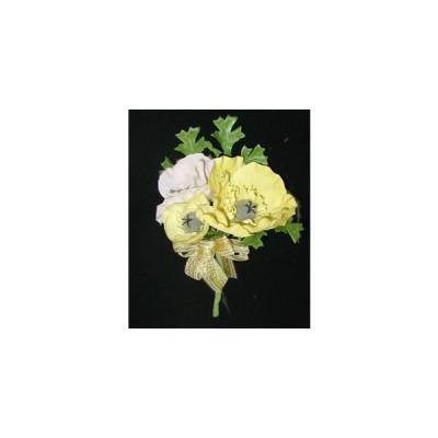 アートフラワー(造花)コサージ