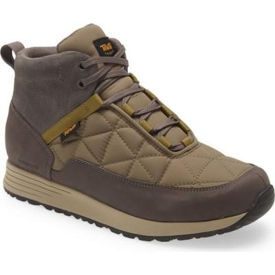 テバ TEVA メンズ ブーツ シューズ・靴 Ember Commute Waterproof Boot Grey/Olive