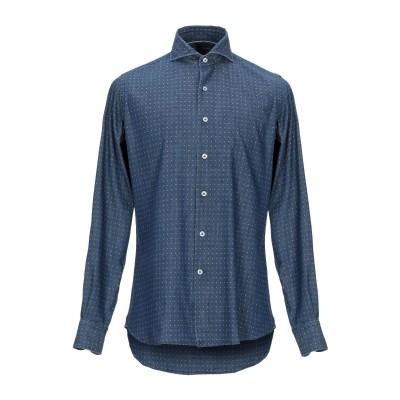 ORIAN デニムシャツ ブルー 44 コットン 100% デニムシャツ