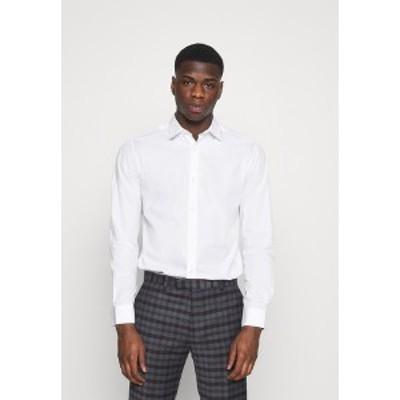ジャック アンド ジョーンズ メンズ シャツ トップス JJJOE 2 PACK - Shirt - white white