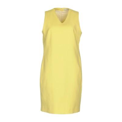 ファビアナフィリッピ FABIANA FILIPPI ミニワンピース&ドレス イエロー 48 コットン 100% ミニワンピース&ドレス