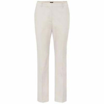 ジョゼフ Joseph レディース ボトムス・パンツ Coleman cotton-blend pants Marble
