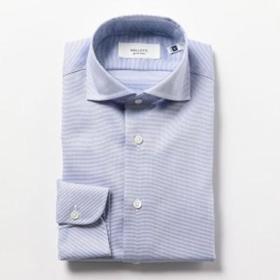 ノーリーズ メンズ(NOLLEY'S)/イージーアイロンワイドカラーシャツ
