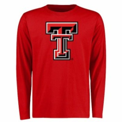 Fanatics Branded ファナティクス ブランド スポーツ用品  Texas Tech Red Raiders Red Big & Tall Classic Primary Long Sleeve T-Shirt