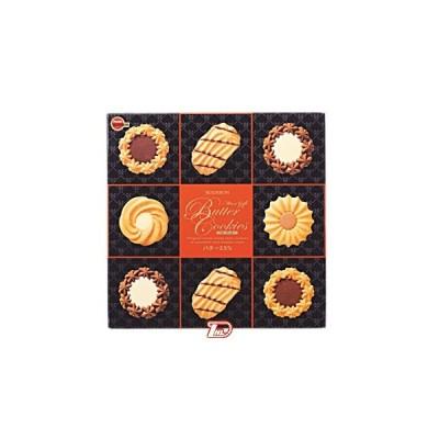 バタークッキー缶 60枚 ブルボン