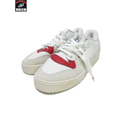 adidas/RIVALRY LOW/CHORK WHITE/GLORY RED/26.5cm アディダス