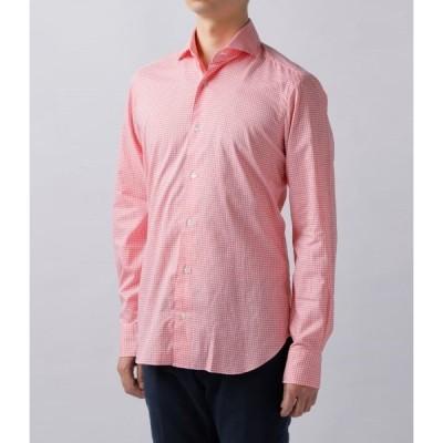 バルバ/BARBA シャツ メンズ DANDYLIFE コットンシャツ  LIU136-5840