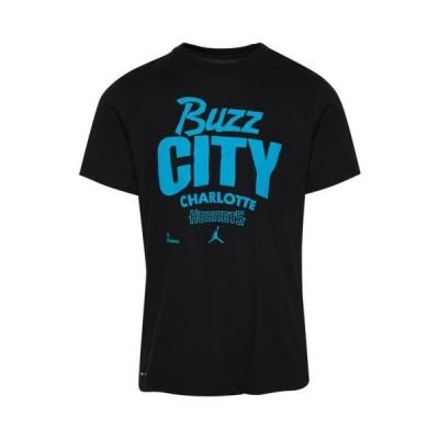 (取寄)ナイキ メンズ NBA チーム マントラ Tシャツ シャーロット ホーネッツ Nike Men's NBA Team Mantra T-Shirt シャーロット ホーネッツ Black 送料無料